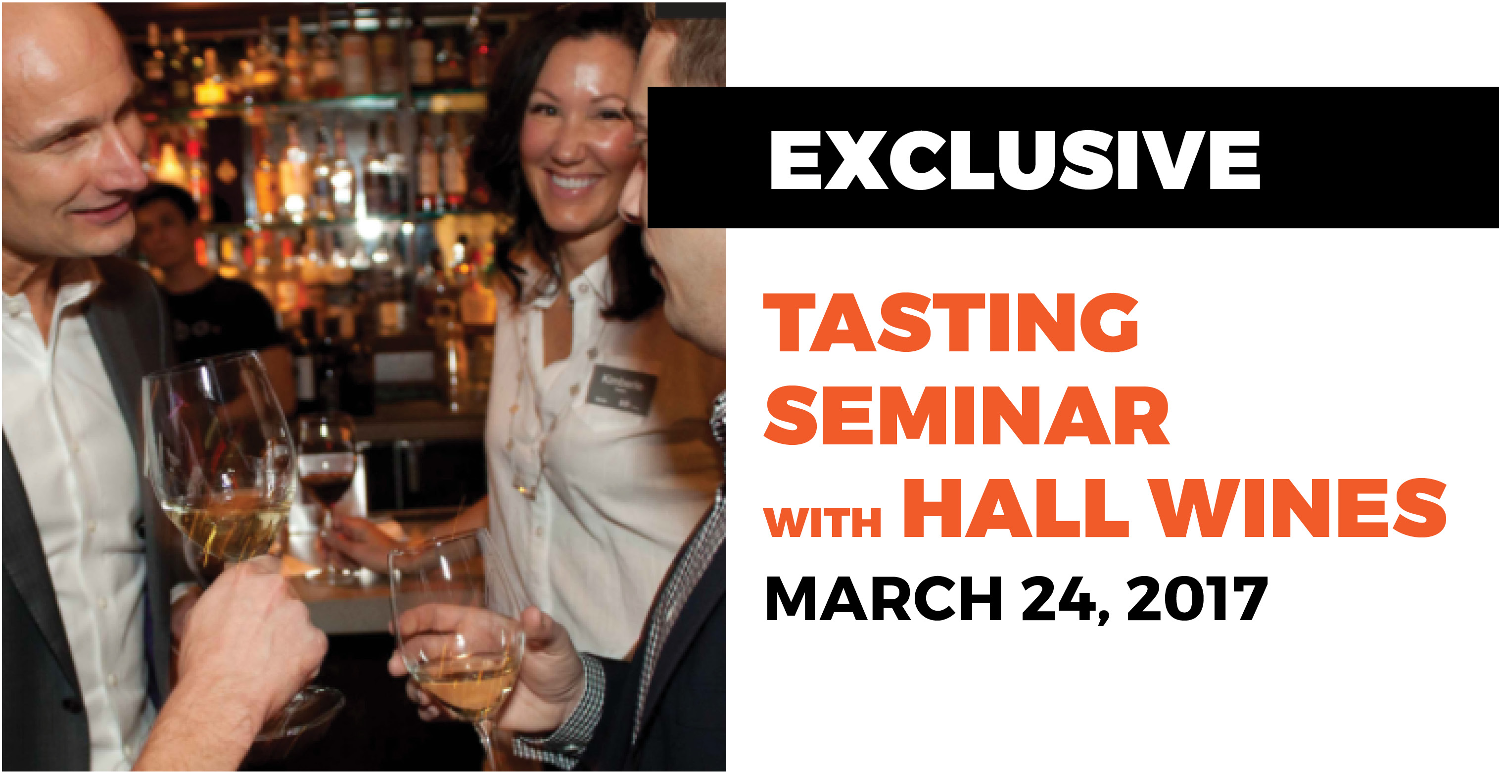 Wine Tasting Seminar with HALL Wines